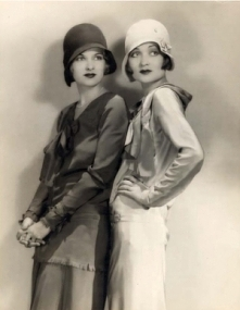 Joan and Constance Bennett ...