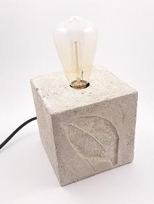 lampa cementowa Edison