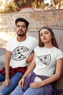 Koszulki z pizzą dostępne p...
