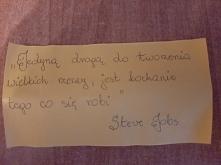 Cytat dnia - Steve Jobs