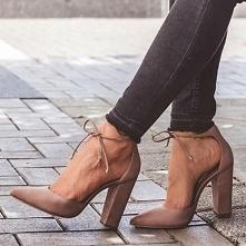 Buty na stabilnym obcasie