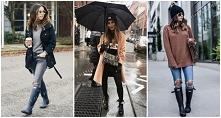 10 stylizacji na deszczową ...