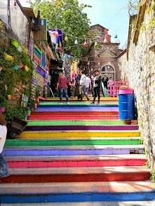 Kolorowa architektura w Tur...