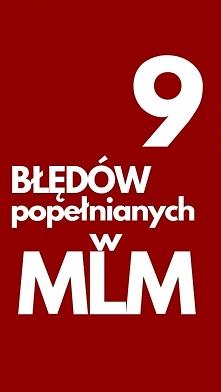 9 Błędów Popełnianych W MLM...