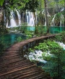 jeziora Plitwickie w Chorwacji
