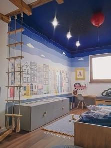 Pokój mojego syna. Ściany i...
