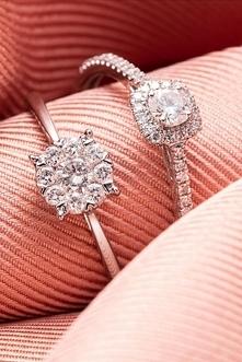 Paris Vendome - Wyprzedaż 80%  Atelier Du Diamant Pierścionek - 18K złoto - d...
