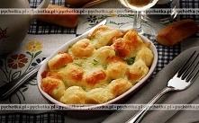 Kalafior zapiekany z serem i kukurydzą