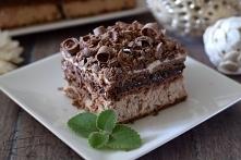 Ciasto Rocher - bez pieczenia