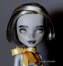Monster High -Frankie Stein OOAK repaint