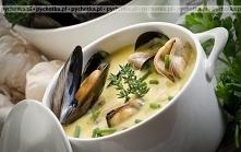 Hiszpańska zupa z małżami