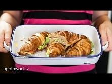 Croissanty zapiekane z bocz...