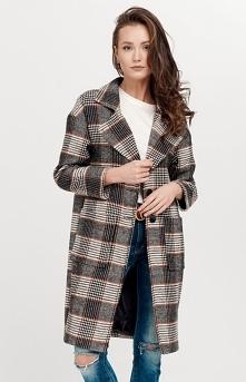 Roco Oversizowy płaszcz w k...