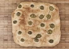 Focaccia z oliwkami