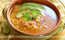 Zupa ryżowa z baraniną