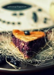 Pełnoziarnista tarta jagodowa