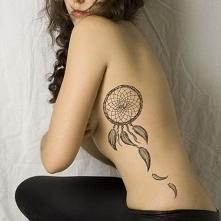Łapacz snów - tatuaż, Dream...
