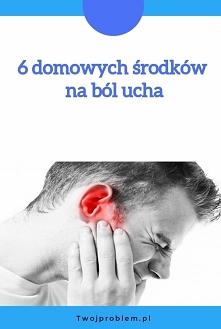 6 domowych środków na ból ucha