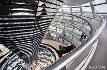 Punkt widokowy na Reichstag...
