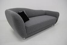 minisofa legowisko dla psa leżanka model Vittoria tkanina orlando grey cena 333zł