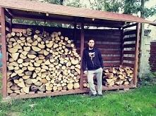 Budowa drewutni do sezonowa...