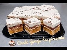 Ciasto Gracja bez pieczenia...