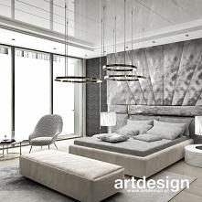 Sypialnia w luksusowej rezy...