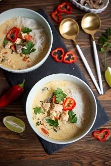 Aromatyczna zupa tajska!