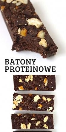 Proste batony proteinowe be...