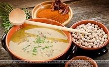 Zupa grochowa z makronem