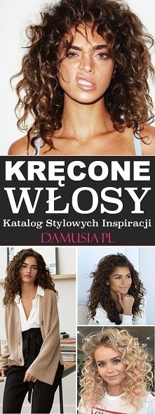 Katalog Stylowych Inspiracji na Kręcone Włosy