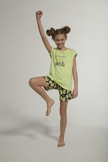 Kolorowa piżamka dziewczęca...