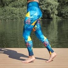 Kolorowe legginsy dla aktywnych kobiet. Jeśli nie wyobrażasz sobie życia bez uprawiania sportu, a do tego lubisz dobrze wyglądać, to z pewnością legginsy Szwendam się przypadną ...