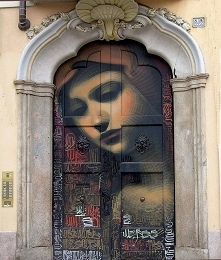 Street art Italy.