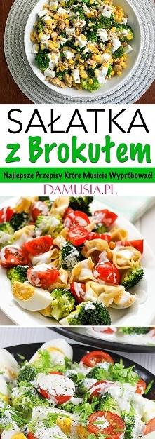 Sałatka z Brokułem w 10-ciu Wariantach – Najlepsze Przepisy na Domowe Sałatki...