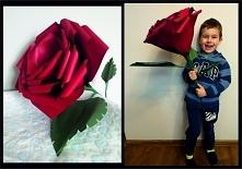 Duża róża, ręcznie wykonana...