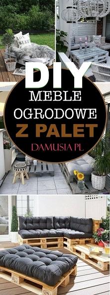 DIY Meble Ogrodowe z Palet – TOP 20 Inspiracji na Ciekawe Meble do Ogrodu