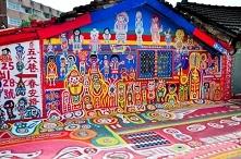 Rainbow Village w Tajwanie ...