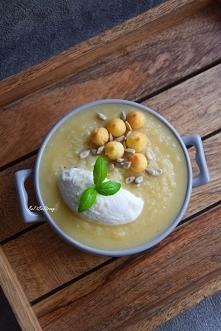 Zupa krem z białych warzyw ...