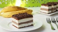 """Ciasto """"Bananowy song"""". Pys..."""