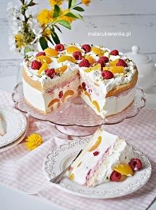 Pyszny Tort Jogurtowy z Mal...