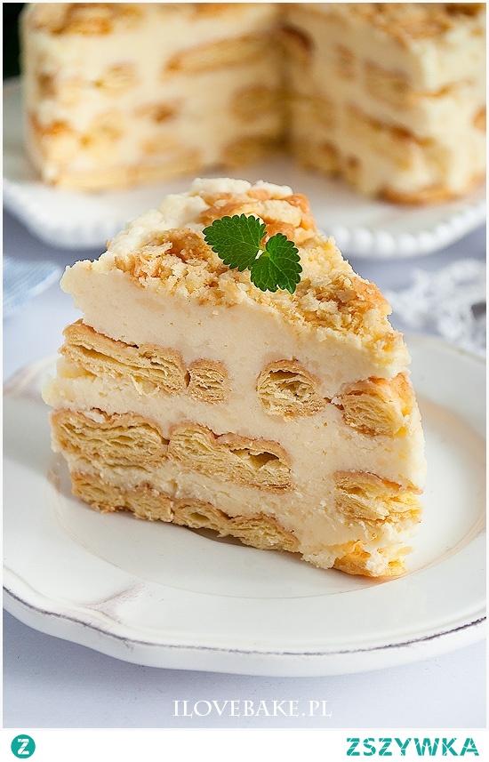 Ciasto napoleon bez pieczenia
