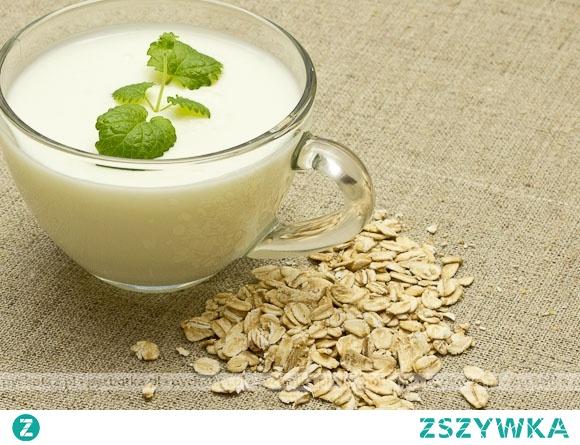 Zupa mleczna z  płatkami owsianymi