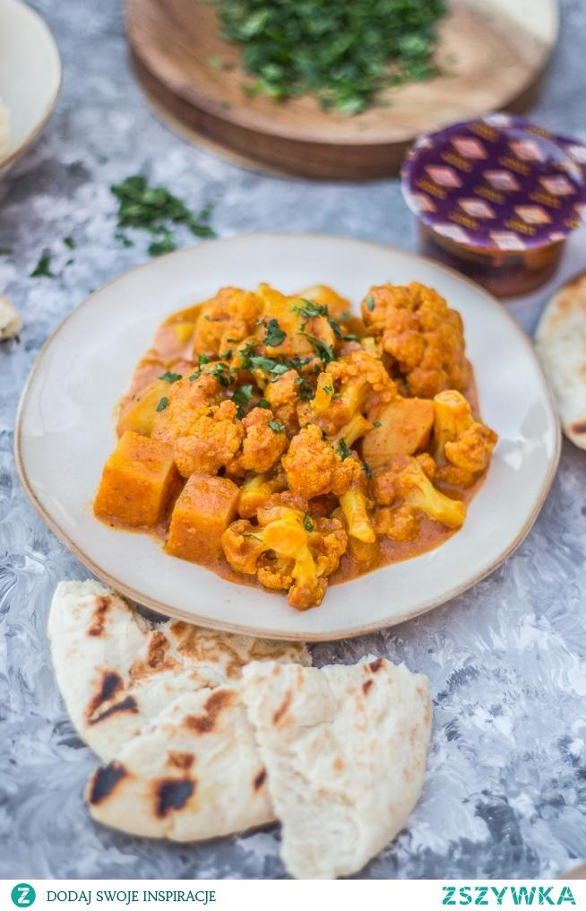 Wegańskie ale pyszne dla każdego.  Curry z kalafiora.   Przepis po kliknięciu w zdjęcie.