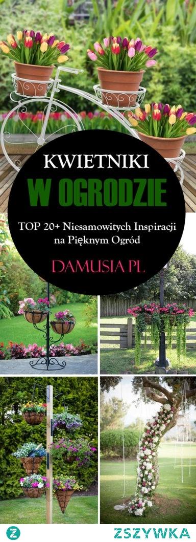 Kwietnik w Ogrodzie – TOP 20+ Niesamowitych Inspiracji na Pięknym Ogród