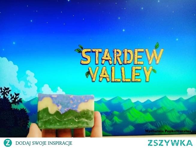 Mydlany krajobraz zainspirowany grą Stardew Valley. Moja pierwsza próba, myślę, że całkiem udana. :)