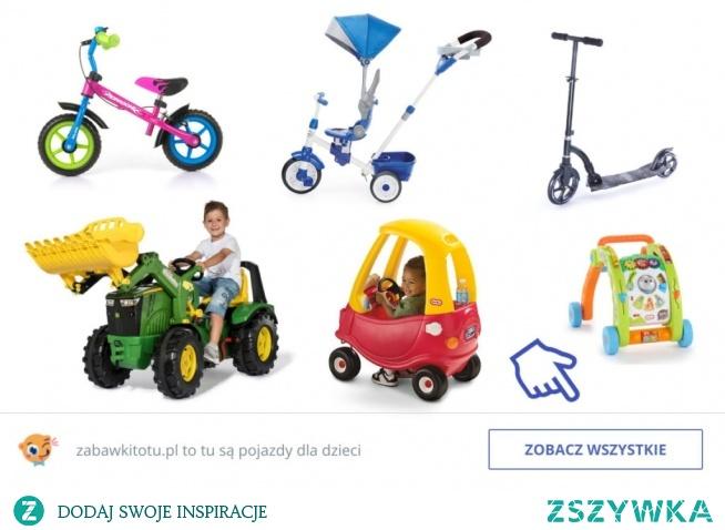 Pojazdy dla dzieci - sprawdź na blog.zabawkitotu.pl