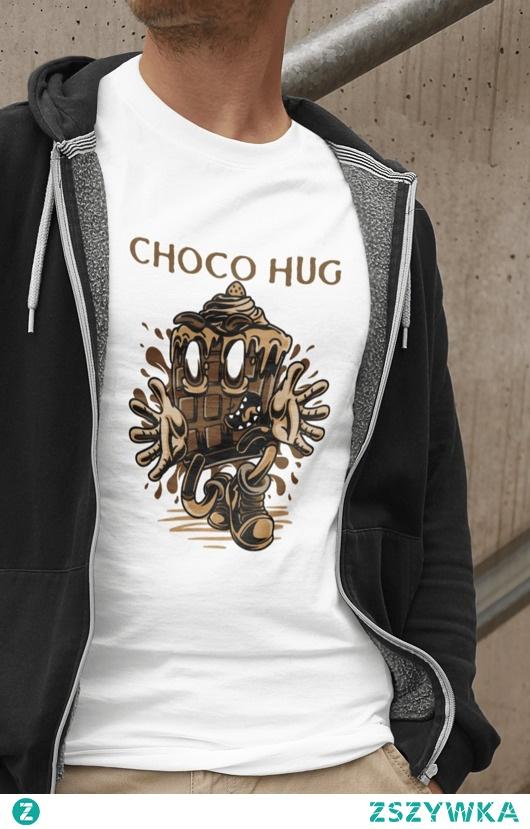 Koszulka Choco Hug dostępna po kliknięciu w zdjęcie, teraz w obniżonej cenie i z darmową dostawą do 18.02!