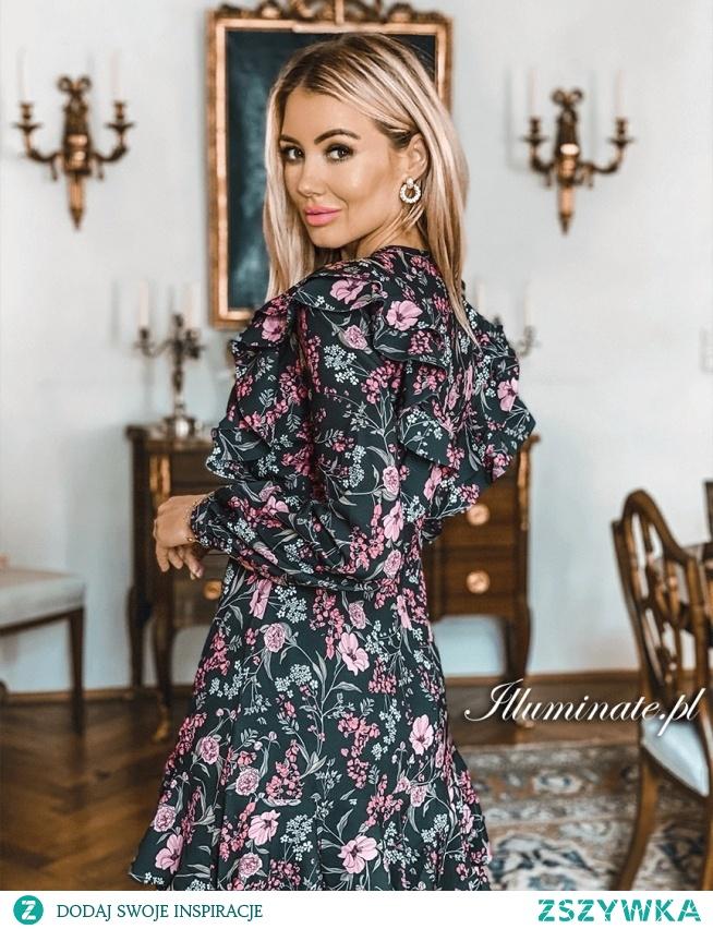 Casualowa sukienka na każdą okazję z kolekcji illuminate.pl