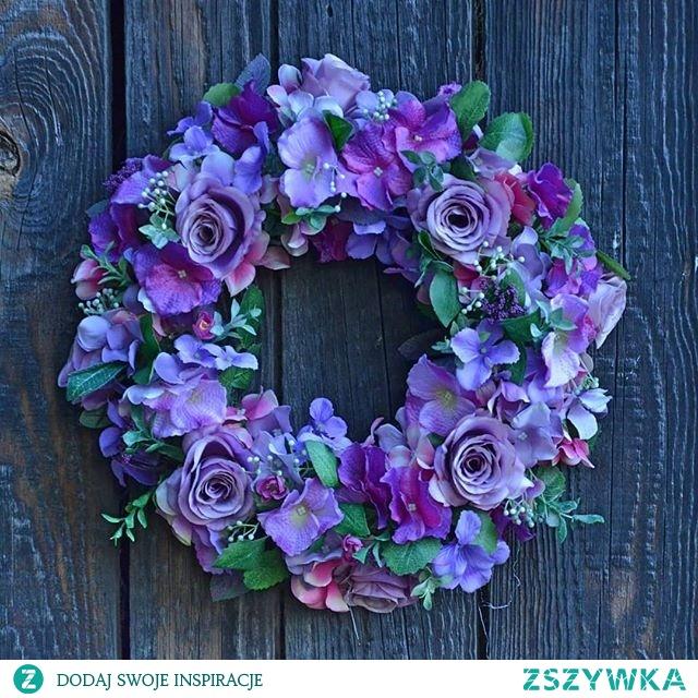 Hydragena's wreath  #hydragena #wreathdesign #wreaths #wreathdecoration #purple #purplelovers #nature #rustic #flowerdesign #flowerlovers #plantlovers #decoration #diy #decorationtips #sweethome